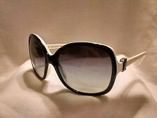 Chanel 5174  Black and White  Oversized Women's Sunglasses