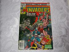 THE INVADERS 1970'S MARVEL SUPERHEROES COMIC 13 FEB  T*