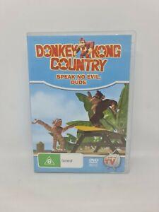 DONKEY KONG COUNTRY: SPEAK NO EVIL, DUDE DVD Region 4 VGC Free Shipping