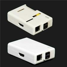 Set of Raspberry Pi old Case / Box - Open & Closed White Solid Case