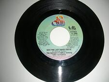 DeFranco Family - Save The Last Dance For Me   45  20th Century Records  VG 1974