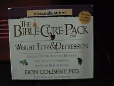 The Bible Cure Pack 3: Weight Loss and Depression (Audio CD)