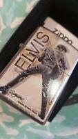 Mechero Zippo Elvis Presley Street Chrome Lighter Betty Harpe Limited Edition