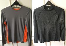 Bundle of 2 Activewear Long Sleeve Tops T Shirt Grey Baselayer DHB H&M Small