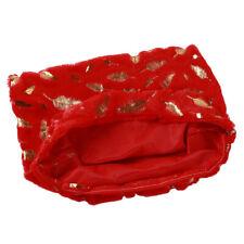 Cushion Cover Plush Throw Pillow Cover Case Feather Pattern Pillowcase Q