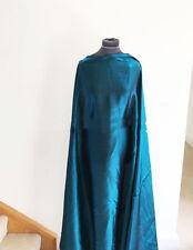Dressmaking Fabric  Kingfisher Blue/Green Catatonic/Shot Woven Satin