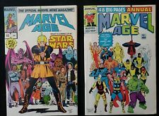 LOT OF (2) MARVEL AGE ISSUES #10 STAR WARS & Annual #2