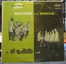 The Al Belletto Sextet Sounds & Songs Capitol LP VG+ Rare 1955 Classic Jazz