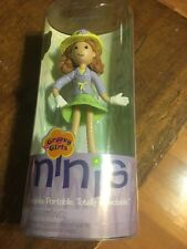 "NEW Groovy Girl's 2004 Petal Mini Doll By Manhattan Toy 4.25"" Poseable Doll"