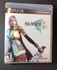 Final Fantasy XIII [ First Print Black Label ] (PS3) USED