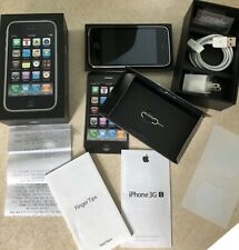 Used Apple iPhone 3GS, 3rd Generation, Black, 16GB, Model A 1303with Box &more