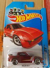 Hotwheels 2014 - Mazda RX7 SA22 Rotary -[RED] [Rollcage Variation VHTF]