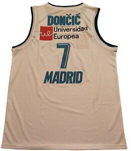 Large Luka Doncic Real Madrid Basketball Jersey Men Large