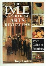 Lyle's Official Arts Review 1986 Hardback 607 pg of illustrated auction records