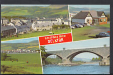 Scotland Postcard - Greetings From Selkirk     RS6867