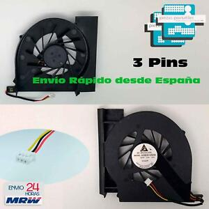 VENTILADOR FAN PORTATIL HP Compaq Presario CQ61-125 CQ61-126 3 Pins F02