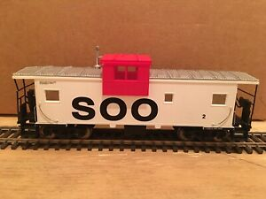 HO Atlas SOO LINE Extended Vision Caboose #2 Metal Wheels CP WC BN GN MILW