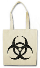 BIOHAZARD VINTAGE SYMBOL Hipster Shopping Cotton Bag - Big Contamination Bang