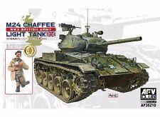 1/35 AFV Club M24 CHAFFEE LIGHT TANK WWII BRITISH ARMY VERSION #35210