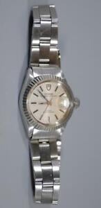Rolex Tudor Princess OysterDate solid Gold Bezel Watch ref. 7637/4 - Nice Ex++!