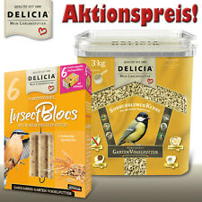Delicia Set: SonnenblumenKerne + InsectBlocs zum Aktionspreis!