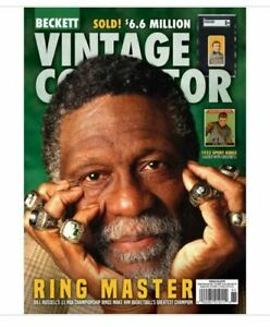 New October/November 2021 Beckett Vintage Collector Price Guide W/ Bill Russell