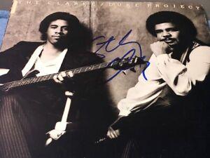 Stanley Clarke Signed Autographed Clarke Duke Project Record Album LP