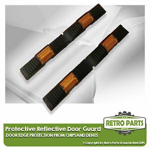 Black Protective Reflective Door Guard for Metrocab. Chip, Edge Covers