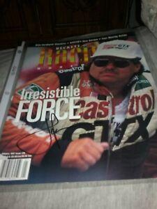 Signed John Force Beckett Magazine Cover