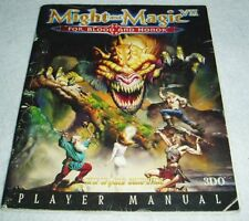 Rare Vintage Might and Magic VII: For Blood and Honor 3DO Player Manual