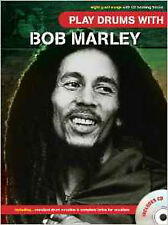 Play Drums With... Bob Marley, New, Bob Marley Book