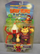 "Diddy Kong Racing ""WIZ PIG"" NEW Nintendo Video Game Superstars Toy Biz 1999"