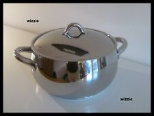 ALESSI : Casserole MAMI SG101/24 with lid ~ INDUCTION ~ Stefano Giovannoni