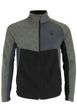 Spyder Men's Heath Color Block Full Zip Sweater Size Small