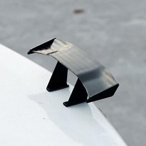 Black Carbon Fiber Spoiler Car Rear Tail Decoration Spoiler Wing Decoration