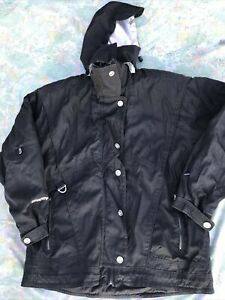 Spyder XT Thinsulate Ski Snowboarding Winter Jacket Coat Women's 14 hooded