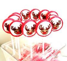(2,10 €/100g) 100 St Ausverkauf Rentier Elch Lutscher Weihnacht Adventskalender