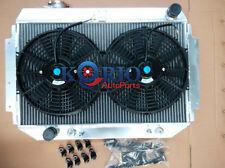 3 Row Radiator & Fan HOLDEN HQ HJ HZ HX LH LX Kingswood Torana V8 253 308 350