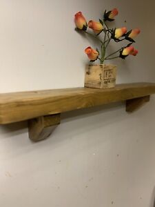 Wall Shelf  Reclaimed wood  Pallets Mantel Vintage