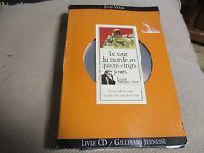 """COFFRET 2 CD + LIVRE """"LE TOUR DU MONDE EN 80 JOURS"""" lu par Bernard PIVOT"""