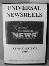 UNIVERSAL NEWSREELS 1959 (DVD)