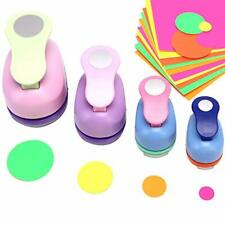 Hole Punch Set - Buytra Scrapbook Paper Punchers, 4 PCS 5/8 Inch 1 Inch 3/2 Inch