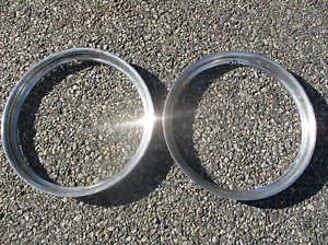 Lot of 1946 Dodge Chrysler Plymouth Ford 15 inch beauty rings trim rings beaters