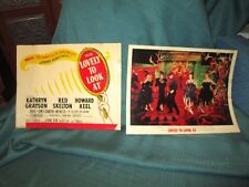 """MGM  """"Lovely To Look At"""" 11""""x14"""" Vintage Posters  *Lot of Two(2)"""