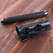 360' Rotation Retractable Baton Holder Holster Universal Extensible EDC Outdoor