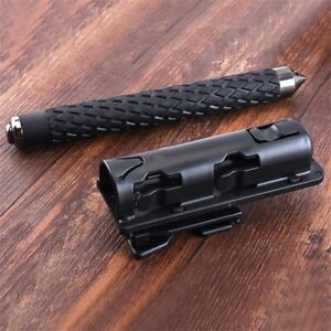 Retractable Baton Holder 360' Rotation Holsters Universal Extensible EDC Outdoor