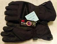 3M Propore Insulated Wind Waterproof Hi-Grip Palm Ski Snowboard Gloves MENS SZ L