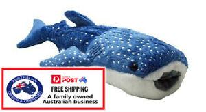 1 X PLUSH MEGA WHALE SHARK 25CM soft toy stuffed sea animal teddy kid christmas
