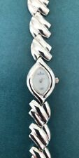 STERLING 925 SILVER CROTON WATCH MOTHER OF PEARL DIAL