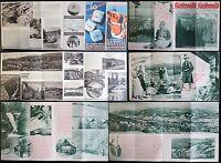 2 Prospekte Kiesewald im Riesengebirge - um 1935 - Niederschlesien Polen - xz